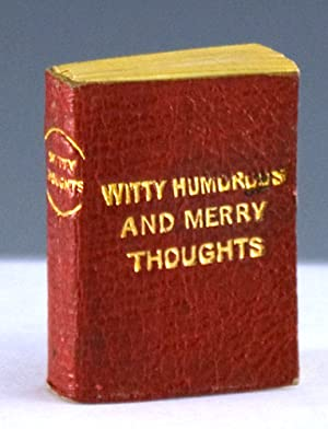Witty, Humorous and Merry Thoughts