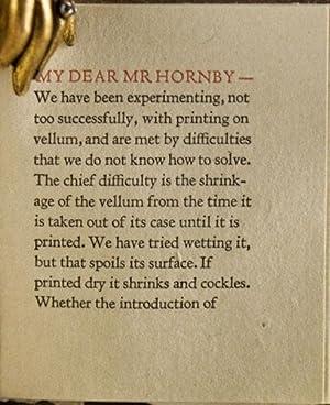 Printing on Vellum: Updike, Daniel Berkeley