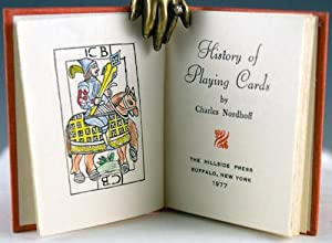History of Playing Cards: Nordhoff, Charles