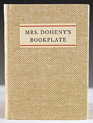 Mrs. Doheny's Bookplate: Lewis, James