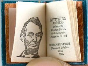 Gettysburg Address. Delivered by Abraham Lincoln at Gettysburg on November 19, 1863: Lincoln, ...