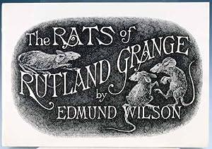 The Rats of Rutland Grange: Wilson, Edmund