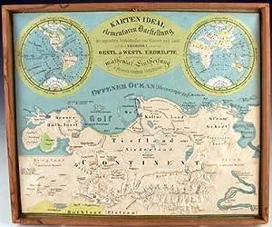 Plastischer schul-atlas für die erste stufe des unterrichts in der erdkunde : enthaltend die karten...