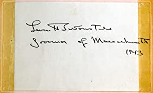 World War II-Era Autograph Book