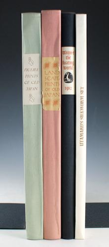 Set of books on Japanese Prints