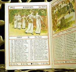 A complete set of Kate Greenaway's Almanacks for 1883-1895, 1897: Greenaway, Kate