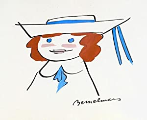 Watercolor drawing of Madeline