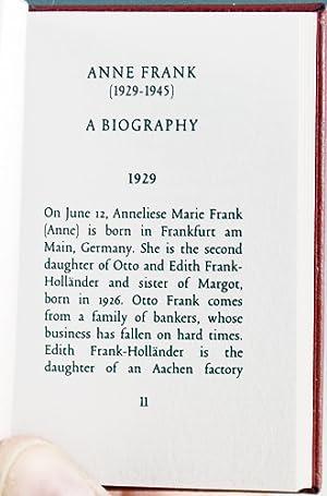 Anne Frank (1929-1945), A Biography: Kok, Henri A. R.