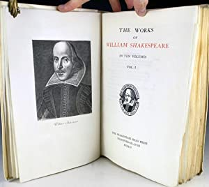 The Works of William Shakespeare in Ten Volumes: Shakespeare, William