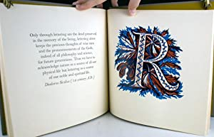 Picture Alphabet, with Quotations in Praise of Print: Weissenborn, Hellmuth