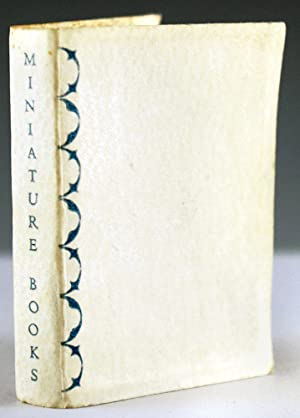 Miniature Books: Koopman, Harry Lyman