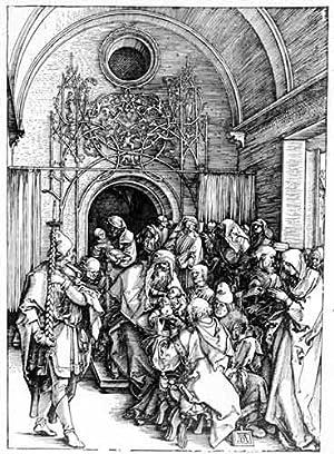 Die Beschneidung Christi (The Circumcision of Christ): Dürer, Albrecht