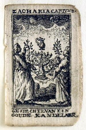 Original Leaf from the Kleine Print Bybel: Adomeit, Ruth