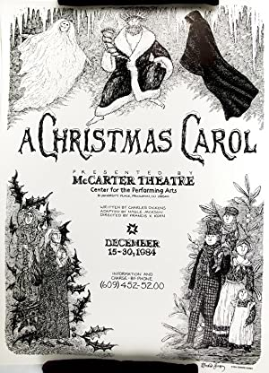 Poster for A Christmas Carol by Edward