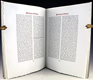 Mystique of Vellum. Containing an introduction by Dechard Turner and a historical essay on vellum ...