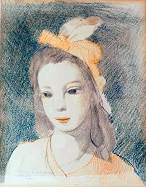 Color lithograph of a young woman: Laurencin, Marie