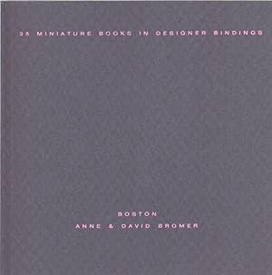 Thirty-Five Miniature Books in Designer Bindings