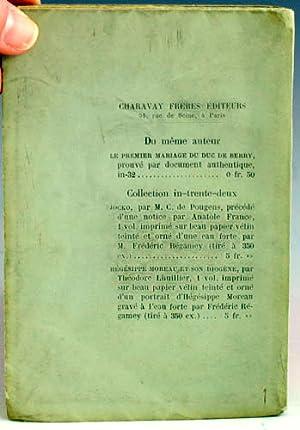 Bibliographie des Impressions Microscopiques: Nauroy, Charles