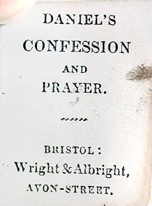 Daniel's Confession and Prayer: Wright & Albright