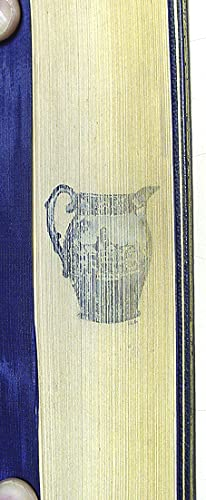 Pictures of Early New York on Dark Blue Staffordshire Pottery. Together with Pictures of Boston and...