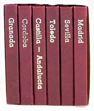 Set of Five Souvenir Books: Spain: Károly, Andruskó