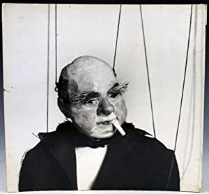 Photograph of a Dwiggins marionette: F. Morton Smith: Dwiggins, W. A.