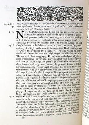 Ovyde hys Booke of Methamorphose, Books X-XV: Ovid