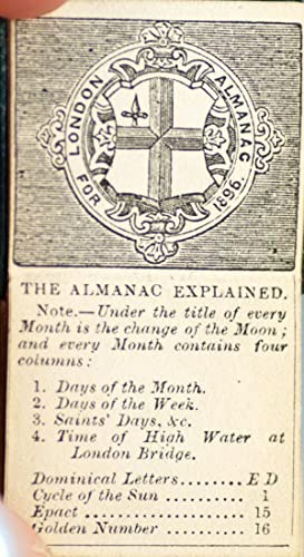 London Almanack for 1896