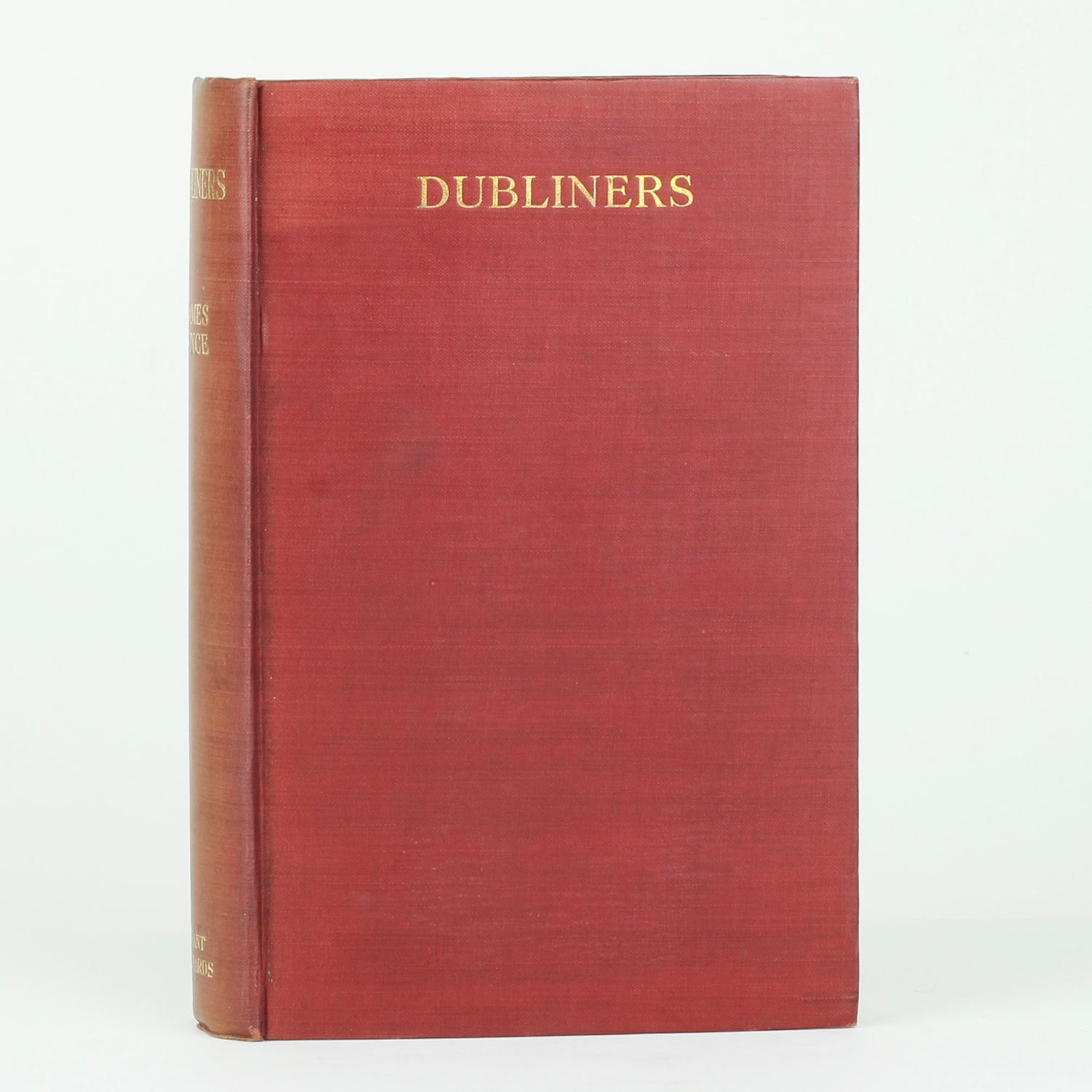 james joyce dubliners Sarah dillon recounts james joyce's epic struggle to publish his first book, dubliners.