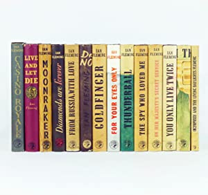 A COMPLETE SET OF JAMES BOND BOOKS: FLEMING, Ian