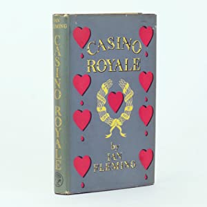 A COMPLETE SET OF JAMES BOND BOOKS Comprising: Casino Royale; Live and Let Die; Moonraker; Diamonds...