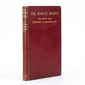 THE PEOPLE'S RIGHTS Selected from His Lancashire and Other Recent Speeches