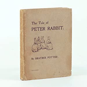Beatrix potter the tale of peter rabbit hardcover first.