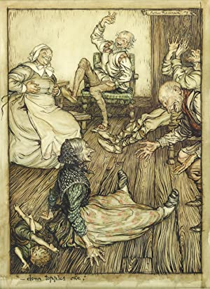 Original Watercolour for A Midsummer Night's Dream: RACKHAM, Arthur