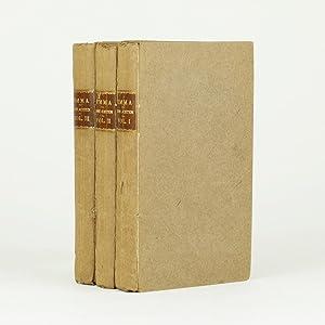 EMMA: A Novel. In Three Volumes. By: AUSTEN, Jane