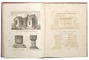 THE HISTORY AND ANTIQUITIES OF KIDDINGTON First Published as A Specimen of a History of Oxfordshire