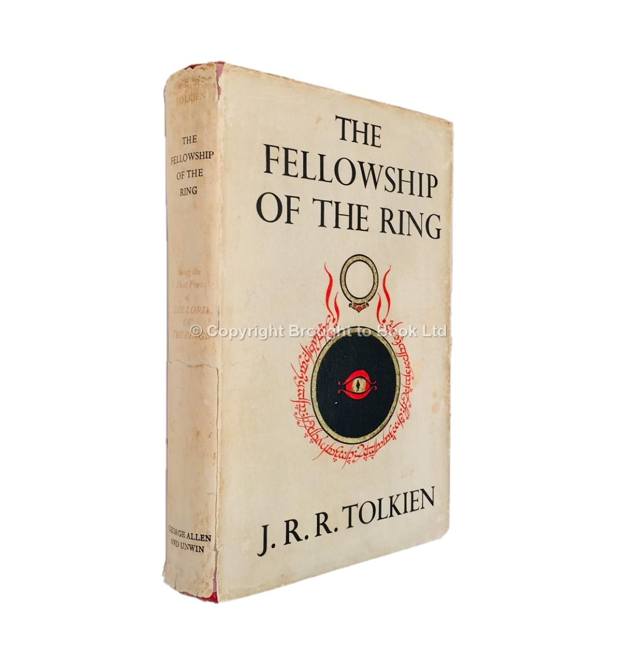 The Fellowship of the Ring Signed J.R.R. Tolkien J.R.R. Tolkien Fine Hardcover