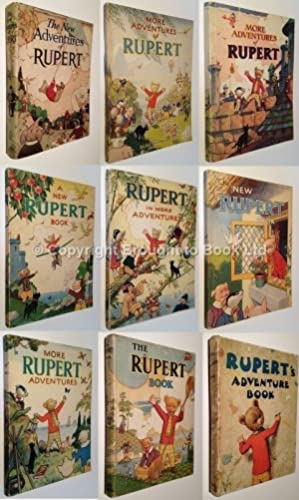Rupert the Bear Annuals Complete Set 1936: Mary Tourtel, Alfred