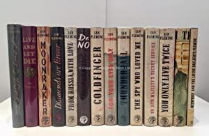 James Bond Complete Set of First Edition: Ian Fleming