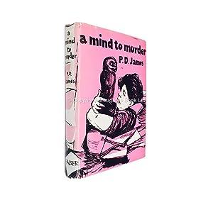 A Mind to Murder Signed P.D. James: P.D. James