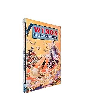 Wings Signed Terry Pratchett: Terry Pratchett