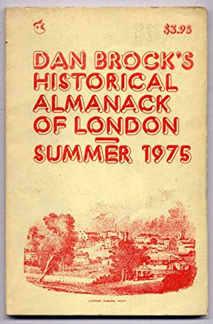 Dan Brock's Historical Almanack of London Spring 1975