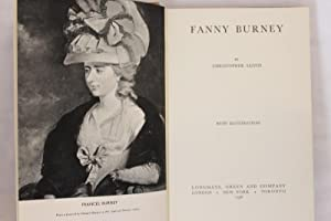 Fanny Burney (1st Edition): Lloyd, Christopher