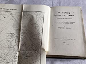 Matlock manor and parish historical and descriptive with pedigrees and arms and a map of the parish...
