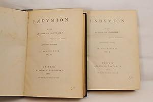 Endymion (Volumes I and II) - Copyright Edition: Disraeli, Benjamin