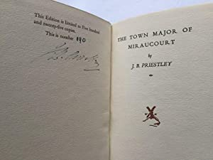 The Town Major of Miraucourt (Signed Limited Edition): Priestley, J.B.