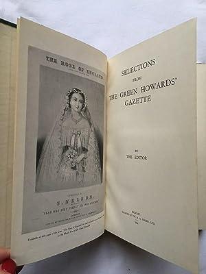 Selections from The Green Howards Gazette: Ferrar, M. L. (Editor of Green Howard Gazette)