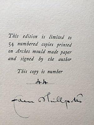 A Hundred Sonnets (Limited & Signed edition 44/54): Phillpotts, Eden