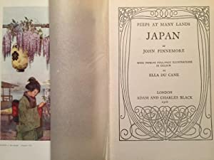Peeps at Many Lands - JAPAN (First edition): Finnemore, John (Ill. Du Crane, Ella)