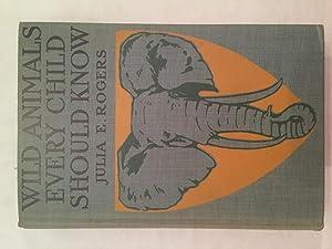 Wild Animals every Child Should Know, Life: Julia Ellen Rogers
